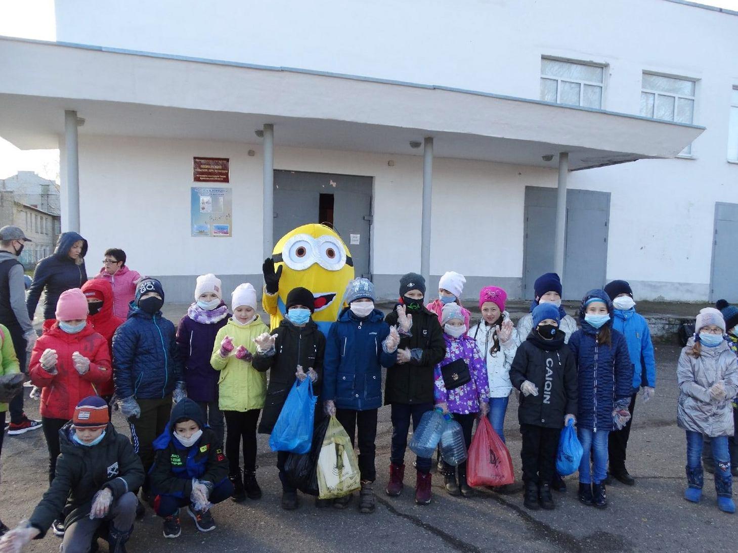 Акция «Беги, собирай, сохраняй»  в Ростовском районе